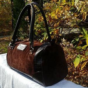 kate spade Bags - Kate Spade suede duffel handbag